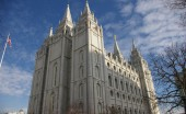 Salt Lake Temple of The Church of Jesus Christ of Latter-day Saints located on Temple Square. Photo Courtesy Wikimedia Commons
