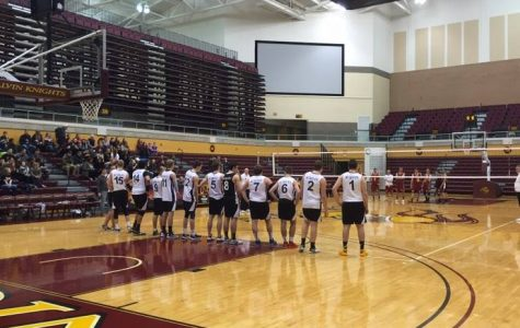 Men's Volleyball plays in Van Noord for first time