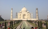 John Spykman took a picture of Taj Mahal while  on a Calvin Bussiness Department trip in India for Interim. Photo by John Spykman