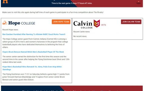 Computer Science departments at Hope and Calvin collaborate to develop trivia app