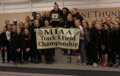 Indoor track and field win MIAA, compete at Polar Bear Final Qualifier