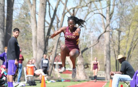 Track and field open outdoor season
