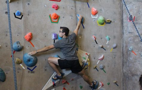 Bouldering competition creates global connections
