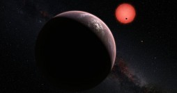 Artist's rendition of the TRAPPIST-1 system. Photo courtesy NASA