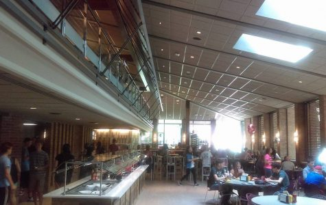 Renovated dining hall combines the familiar with the new