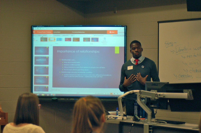 Photo courtesy Student Senate
