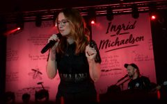 Calvin welcomes Ingrid Michaelson