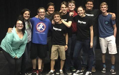 Calvin Improv: just a team having fun