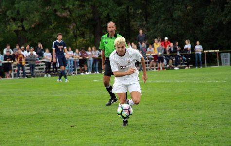 Q&A with men's soccer MIAA Offensive Player of the Week Isky Van Doorne