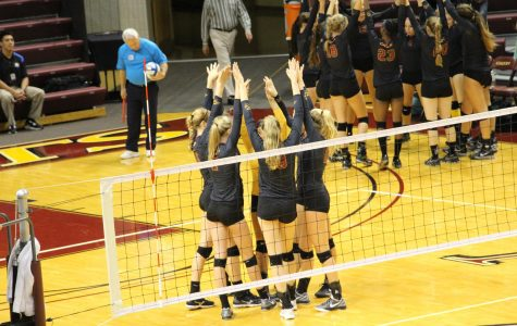 No. 1 women's volleyball undefeated at 22-0