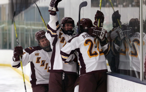 Calvin hockey crushes Hope