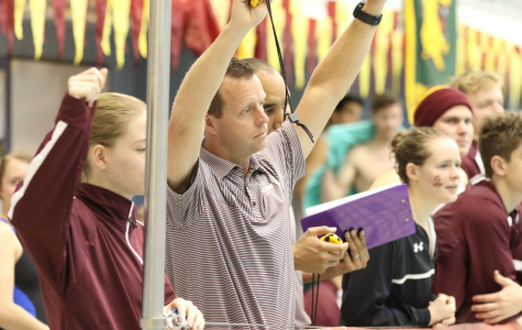 Both swimming and diving teams finish third in last 2016 event