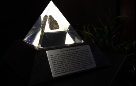 Moon rock comes to Calvin museum