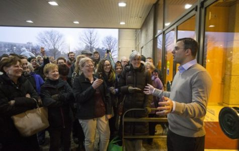 Dozens turned away from Rep. Amash's town hall
