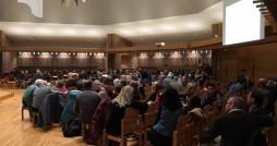 Guests await speaker Matt Walhout; Photo courtesy Just Citizenship Series.