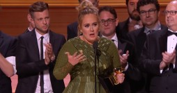 Adele won five Grammy awards, bringing her total to 15. Photo courtesy The Daily Dot.