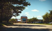 Cornerstone University is just a few miles down the Beltline from Calvin's campus and has an enrollment of 1,250.  Photo taken from Vimeo user Shadow|Shine Pictures.