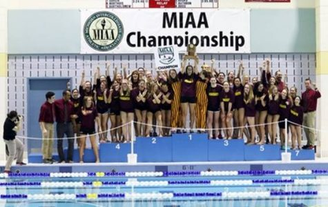 Women's swimming and diving win championship, men finish second