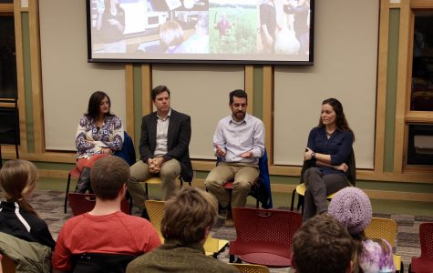 Environmental science pros speak at panel
