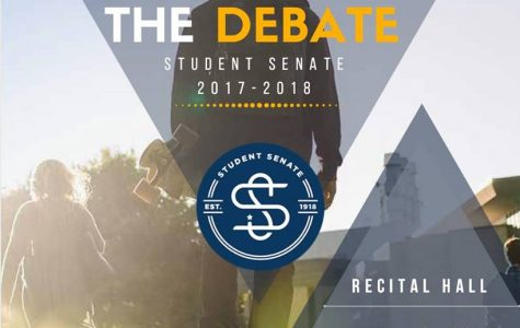 Candidates debate in anticipation of student senate elections