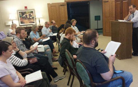 Calvin prof starts multi- generational Bible study
