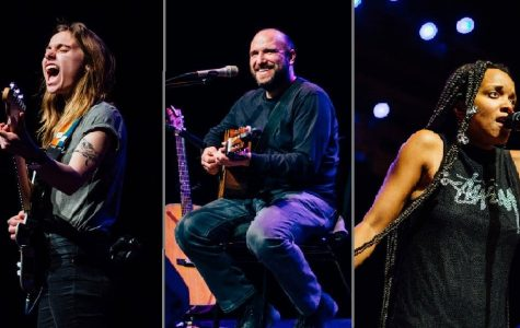 From left to right: Julien Baker, David Bazan, Jamila Woods. Photos by  Kendra Kamp.