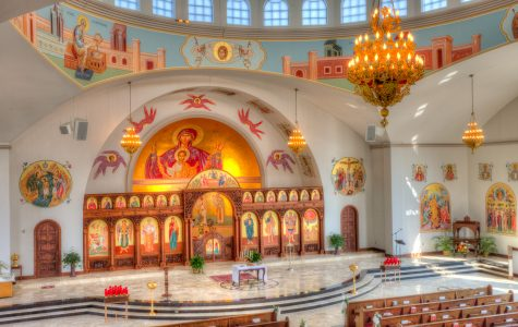 Students  experience Orthodox Easter
