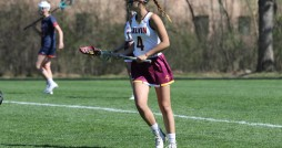 Amanda Davio (4). Photo courtesy Calvin Sports Information.
