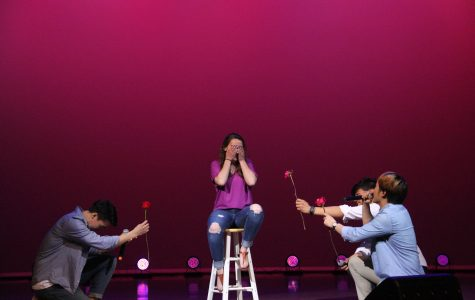 Calvin talent show wows