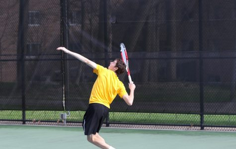 Men's tennis secures win over Adrian despite demeaning behavior