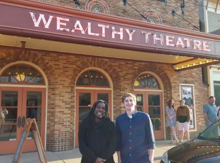 "Senior Nate Roels' short film ""Renardo"" was accepted into the Grand Rapids Film Festival. Photo courtesy Nate Roels."