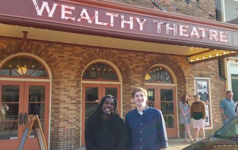 Professor and Student represent Calvin at Grand Rapids Film Festival