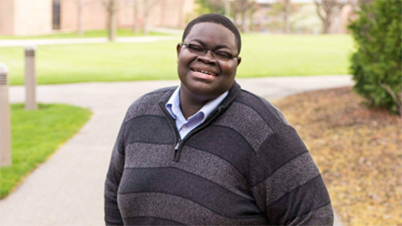 Andrew+Oppong+received+56+percent+of+the+vote.+Photo+courtesy+Calvin+Senate.