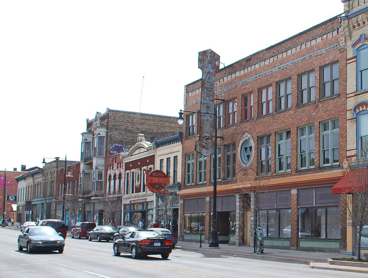 A view of the Heartside Community in Downtown Grand Rapids. Photo courtesy Wikipedia.