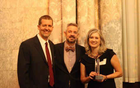 Distinguished alumni honored