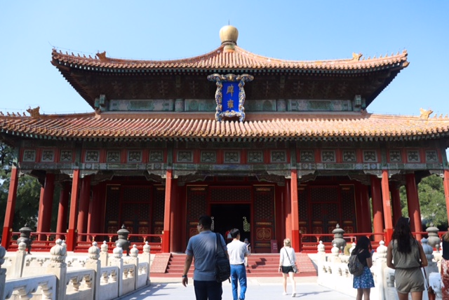 Calvin students visited Daoist temples while studying abroad in Beijing. Photo by Mimi Mutesa.