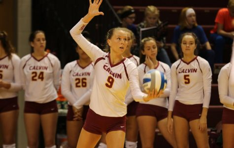 Women's volleyball shuts out St. Mary's