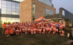 World Vision team running for clean water crisis