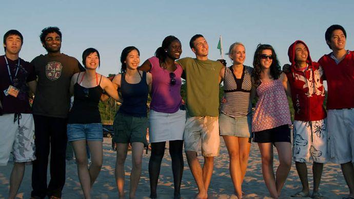 International students make up 12 percent of the Calvin student body. Photo courtesy Calvin.edu.