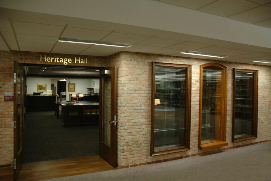 The archives of the CRC, as well as many other archives, are housed in Heritage Hall in Hekman Library. Photo courtesy Calvin.edu.