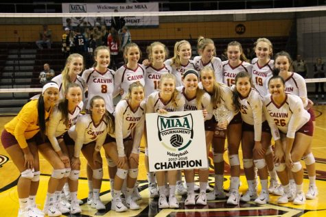 Women's volleyball marches toward NCAA Tournament