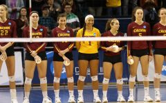Women's volleyball falls at semifinals