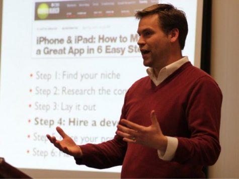 Calvin alumnus 'fell into' career as virtual teacher