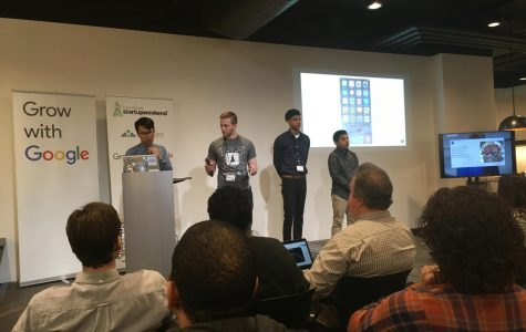 Calvin entrepreneurs pitch ideas at Startup Weekend 2018