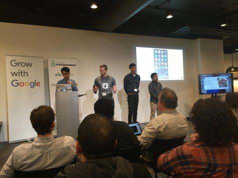Calvin entrepreneurs pitch ideas at Startup Weekend 2018