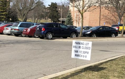 CFAC parking lot closed for the week