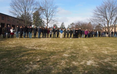 Walkout remembering Parkland victims held on Calvin's campus