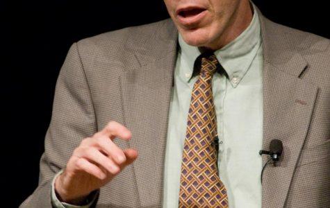 Bill McKibben speaks on global climate change at Festival of Faith & Writing