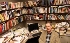Retiring English prof pairs statistical analysis and language