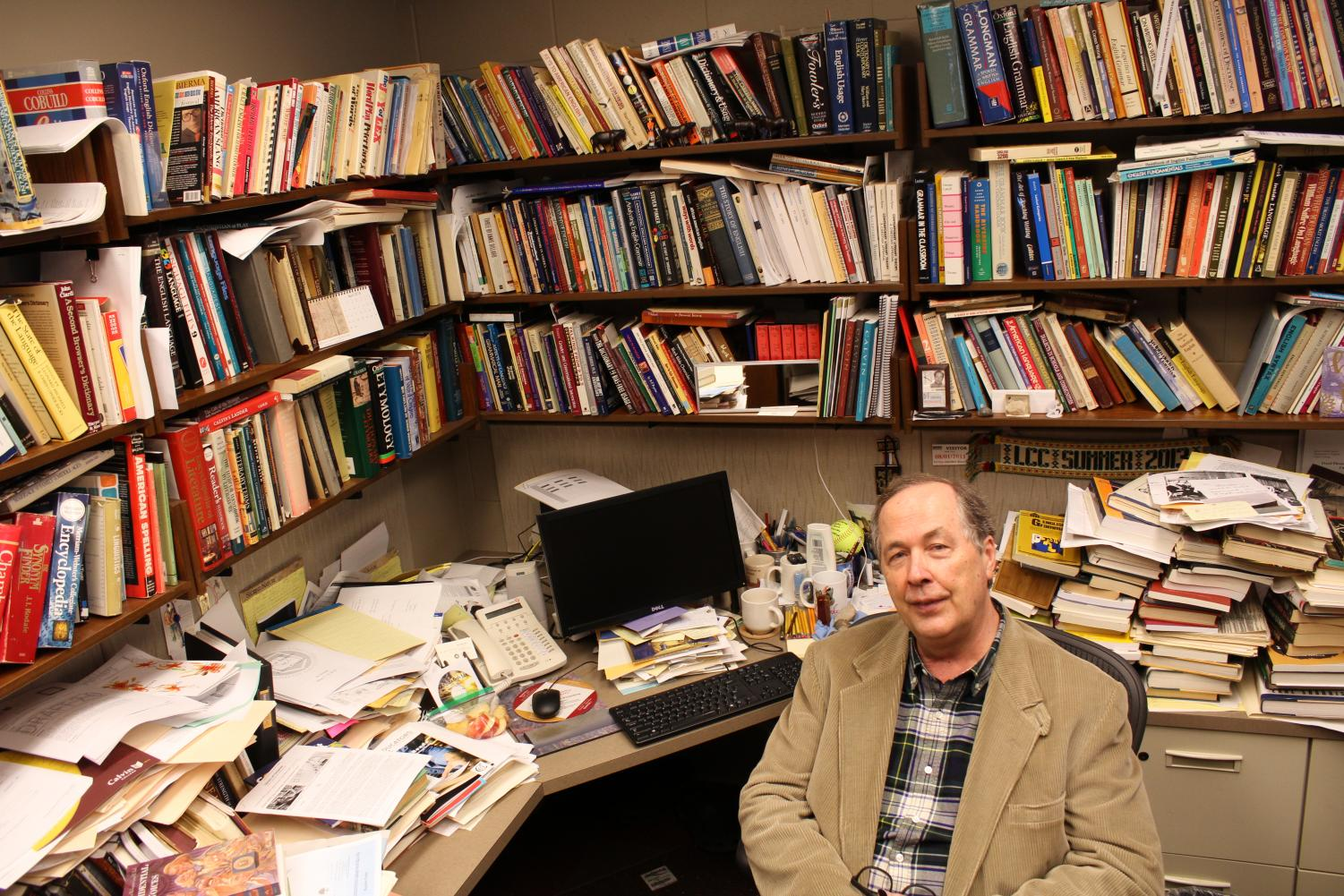 Professor Vanden Bosch retires this May and will leave a legacy of using the power of language databases to research patterns. Photo by David Fitch.